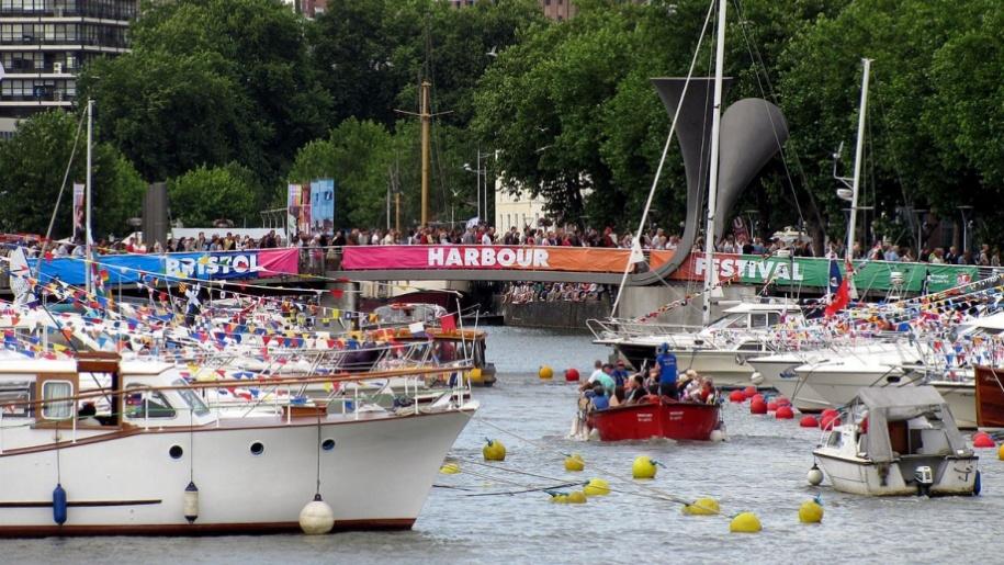 Bristol Harbour boats