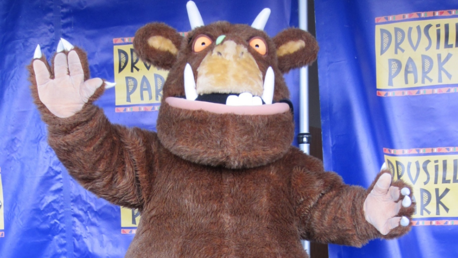 The Gruffalo at Drusillas Park