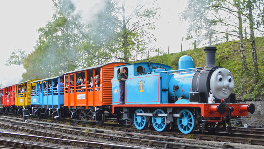 Day out with Thomas at East Lancashire Railway