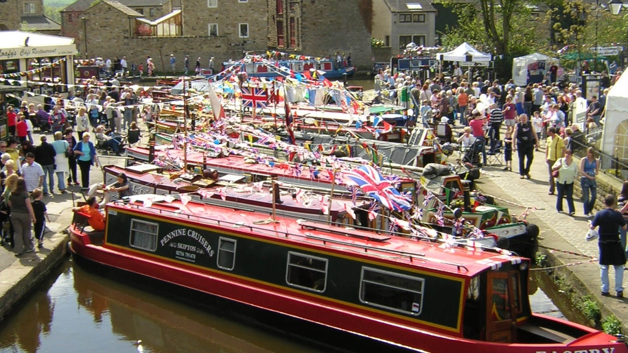 canal boat festival
