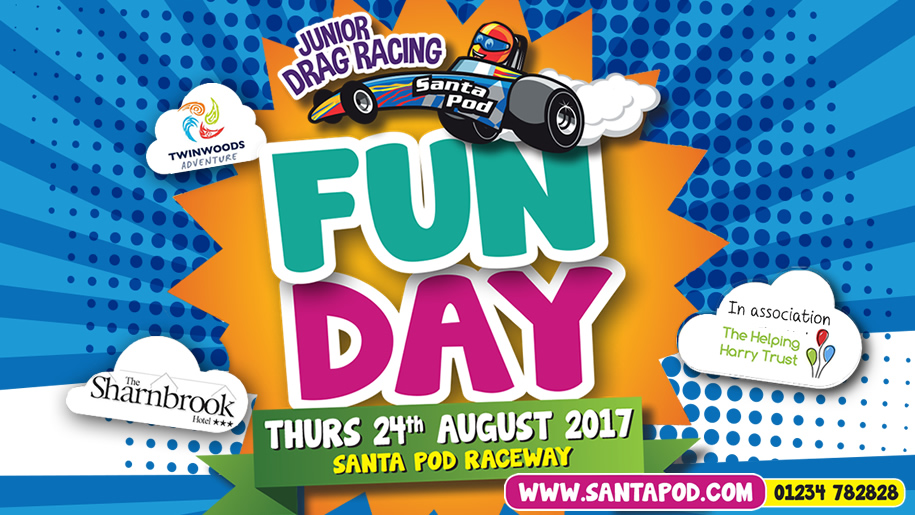 Santa Pod Raceway Fun Day Event