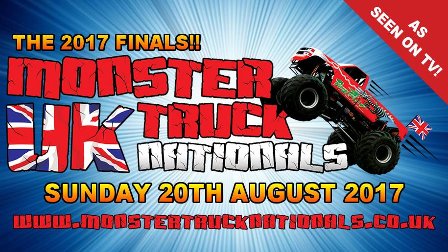 Santa Pod Raceway Monster Truck Event