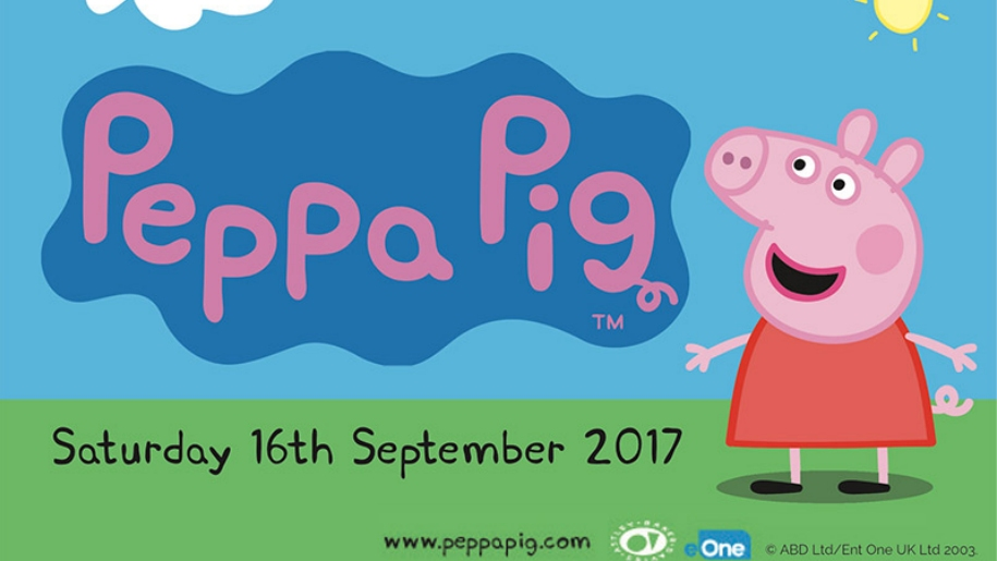 Peppa pig event at West Somerset Railway