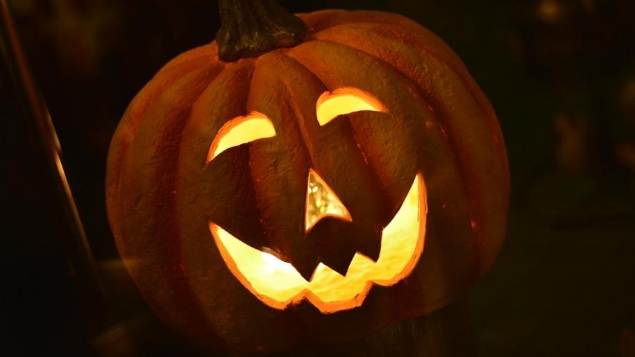 Halloween pumpkin Forty Hall