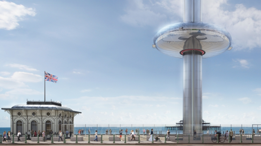 British Airways i360 tower Brighton