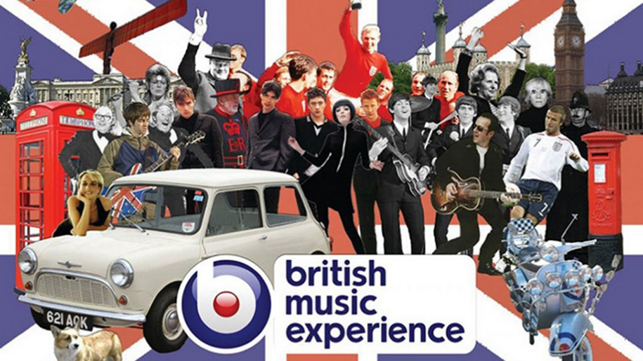British Music Experience logo