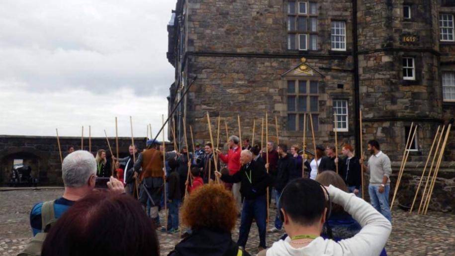 edinburgh castle battle