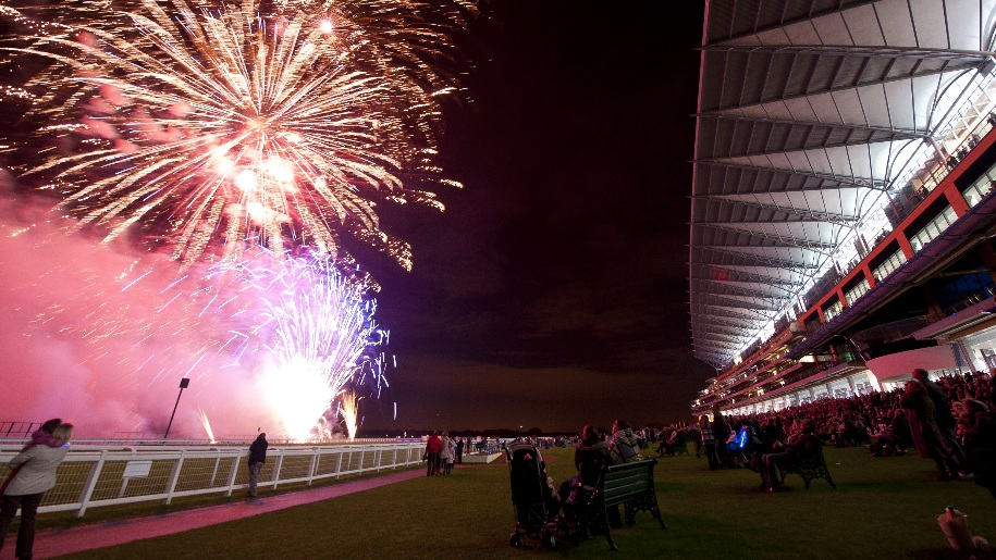 Fireworks at ascot
