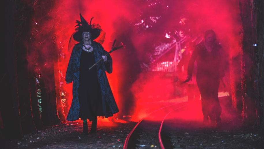 halloween at Lightwater Valley