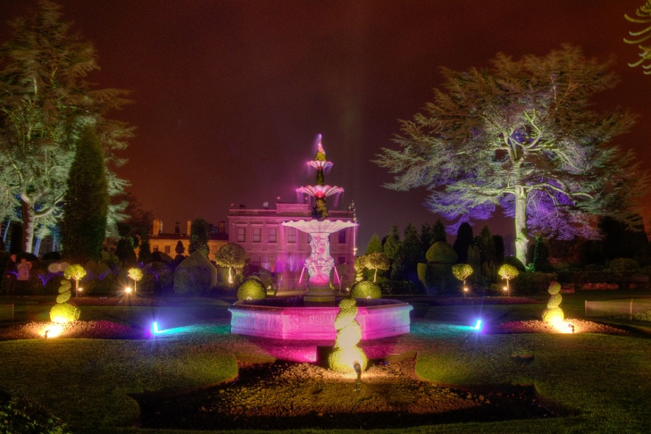Brodsworth Hall lights