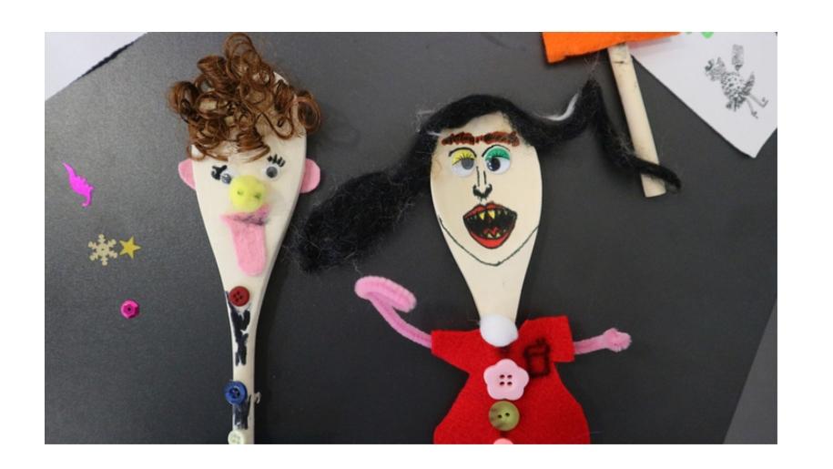 Roald Dahl Museum puppets