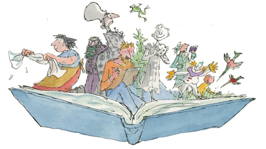 Illustration of Quentin Blake: Inside Stories