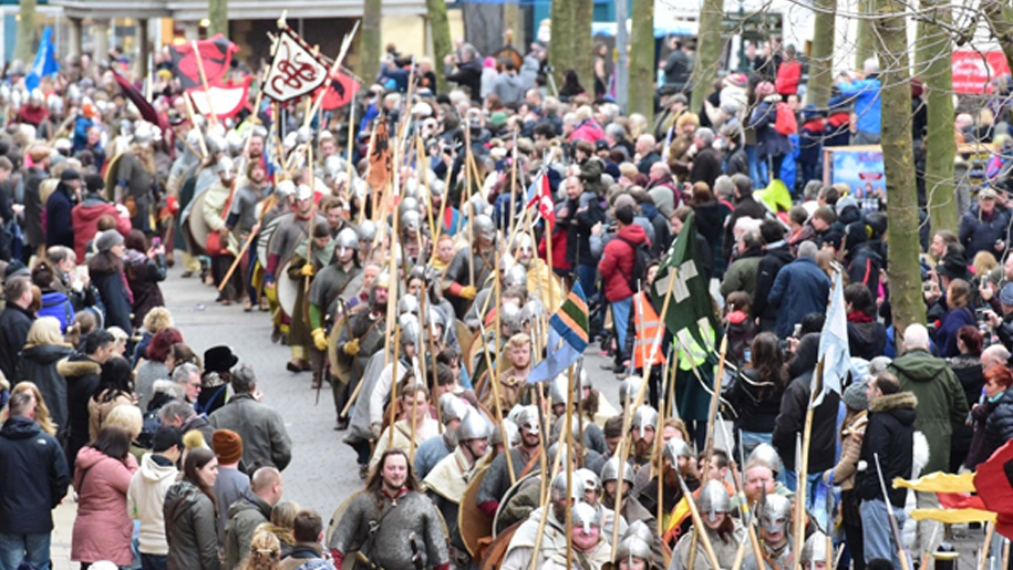 Viking march