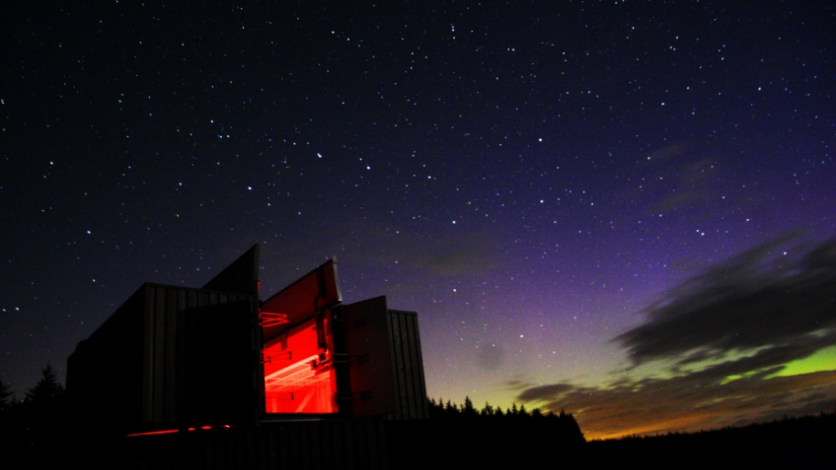 Kielder Observatory night
