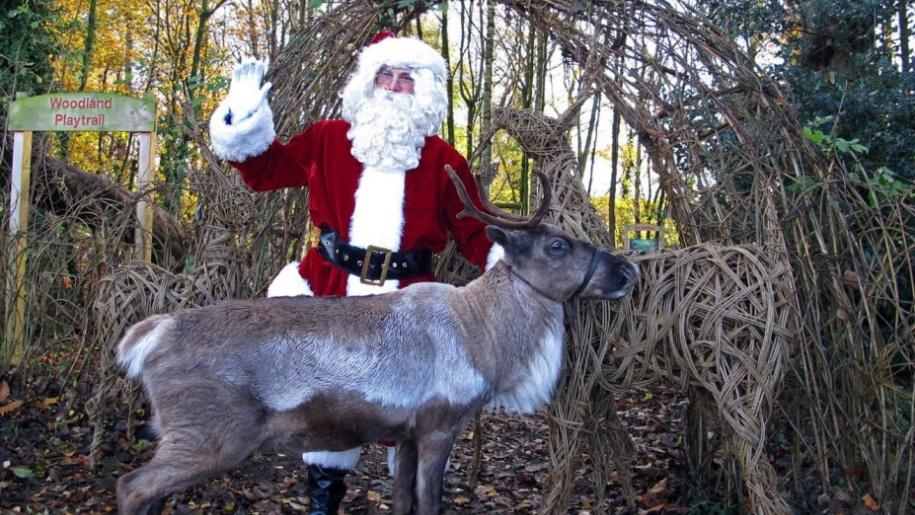 Tatton Park Santa