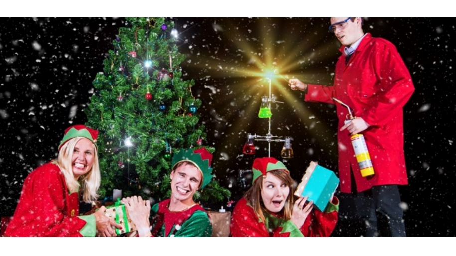 christmas elves and science experiments