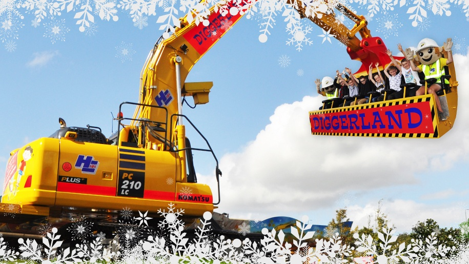 diggerland at christmas