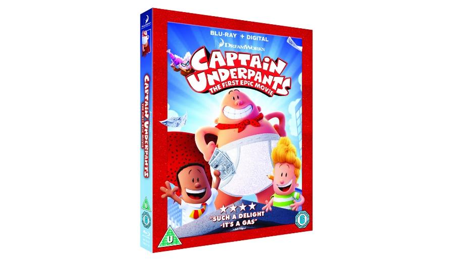 captain underpants dvd