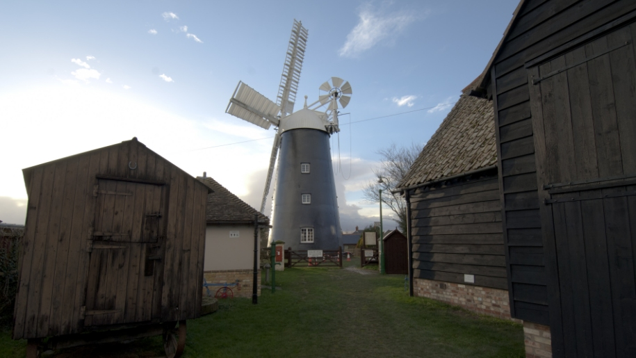 windmill at Burwell Museum