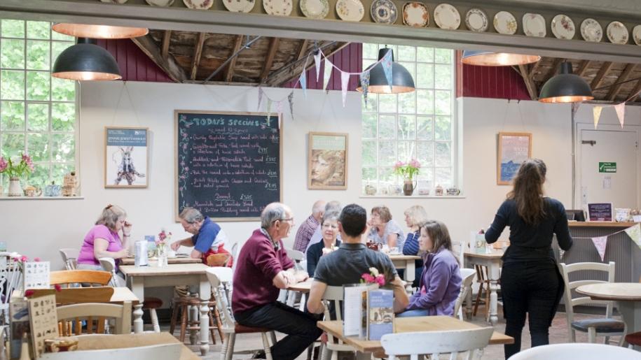 inside cafe
