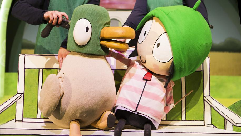 sarah and duck show