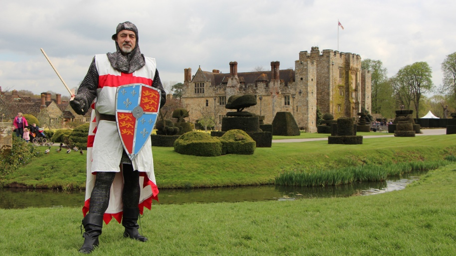 St Georges Day at Hever Castle