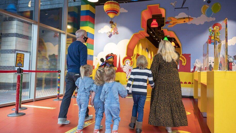 Family at Legoland Discovery Centre Birmingham