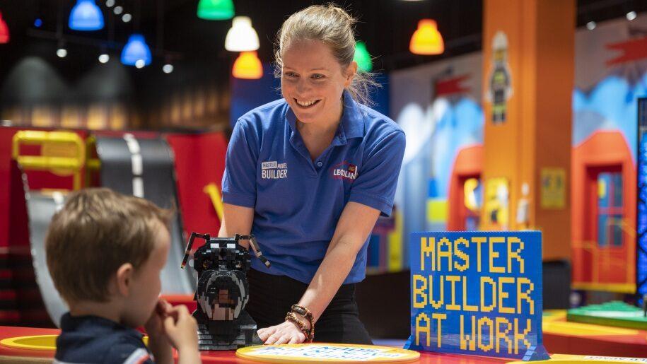 Master Model Builder at Legoland Discovery Centre Birmingham