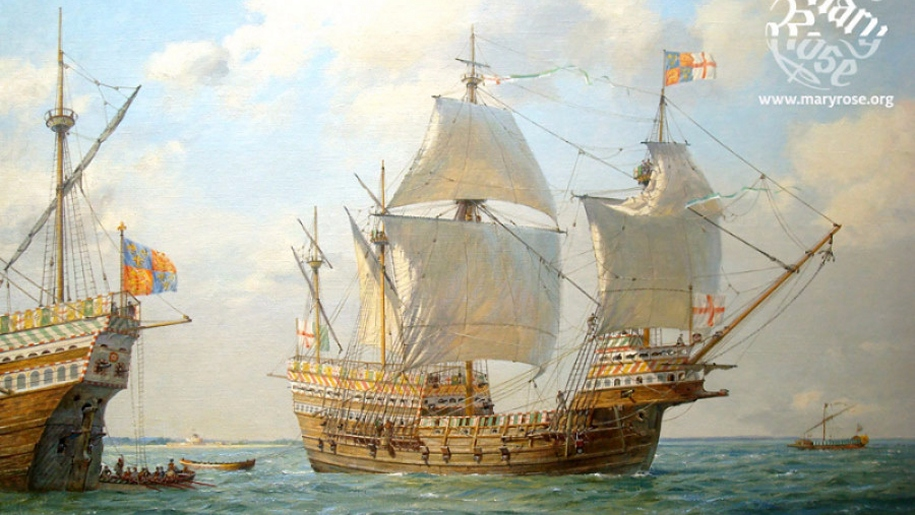 mary rose painting
