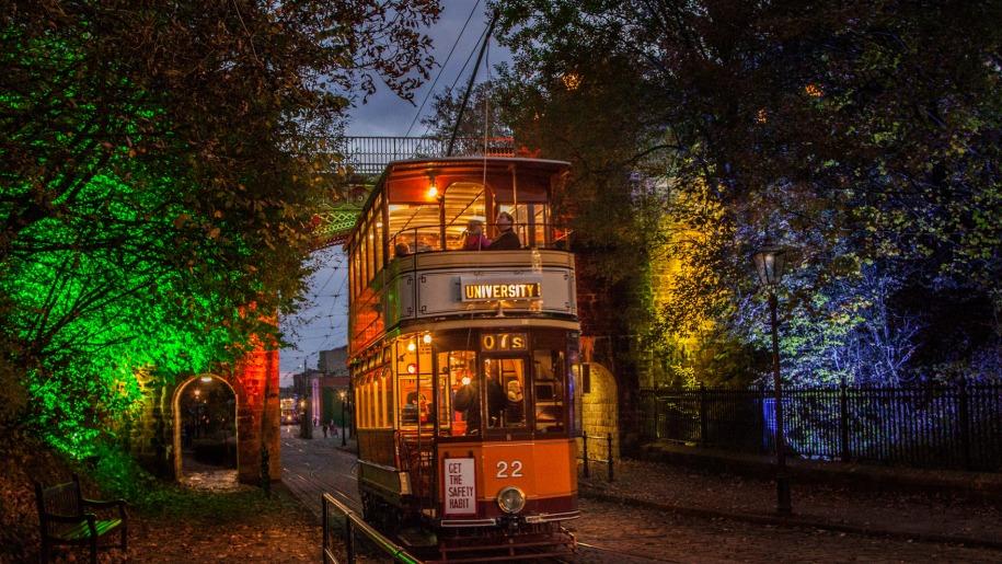 crich tramway halloween