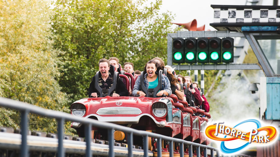 Thorpe Park Resort Roller Coaster