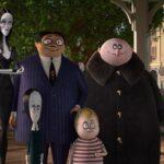 cartoon of the Addams Family