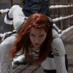 scarlett Johanssen playing Black Widow