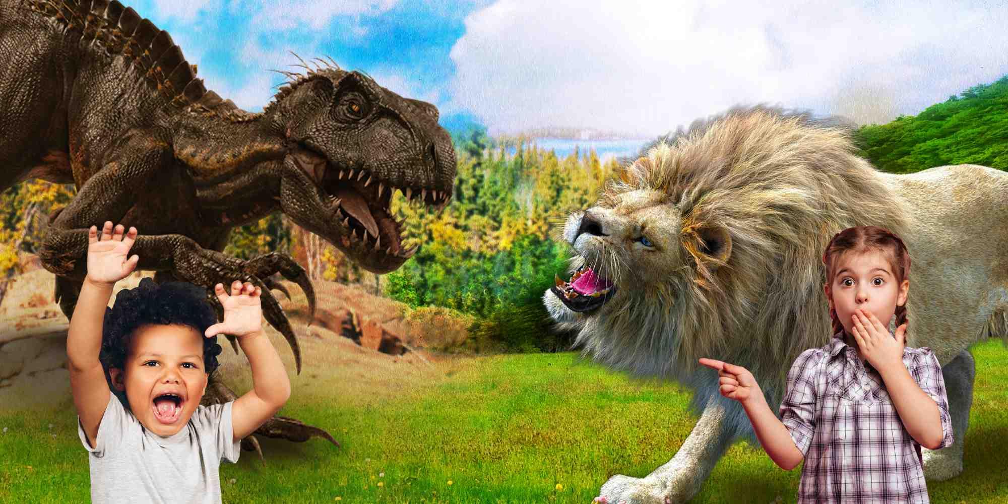 dinosaur, wildlife