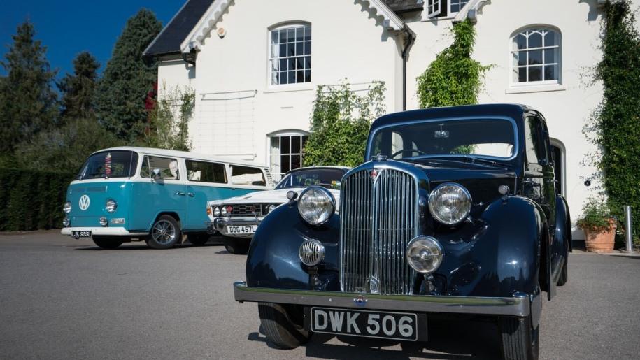sir harold hillier, car show. hampshire