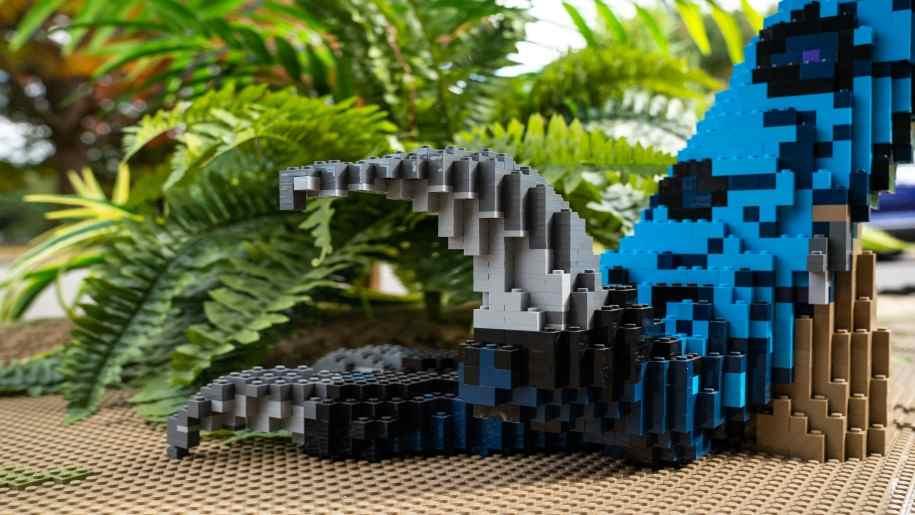 brickosaurs, marwell zoo