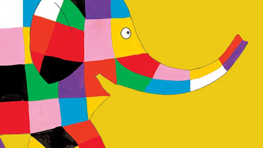 seven stories elmer the elephant