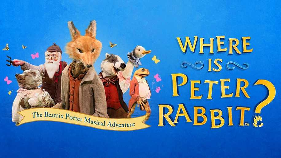peter rabbit, haymarket, london, musicals