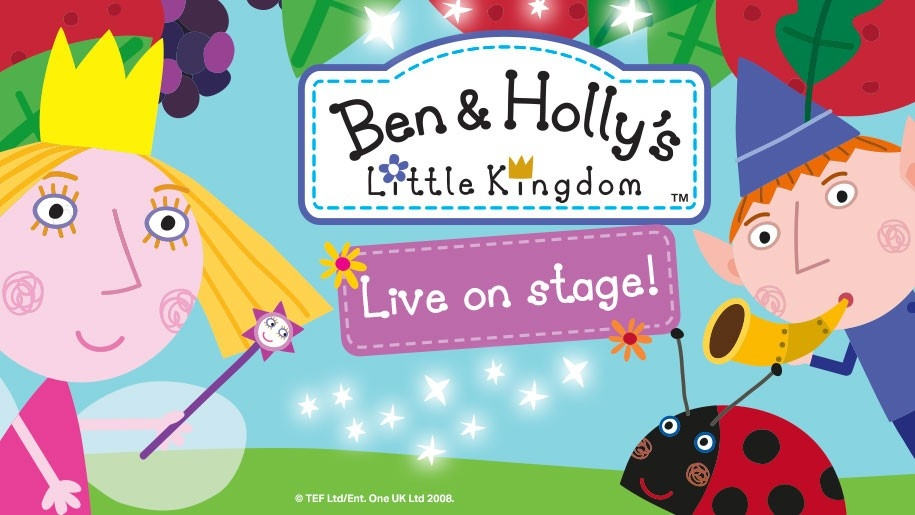 ben and holly live on stage