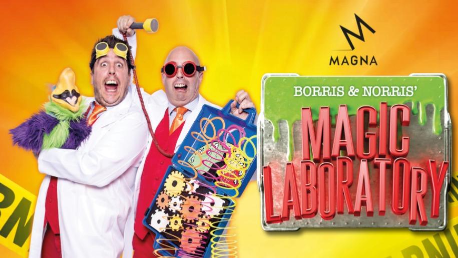 magic labatory event at magna science centre