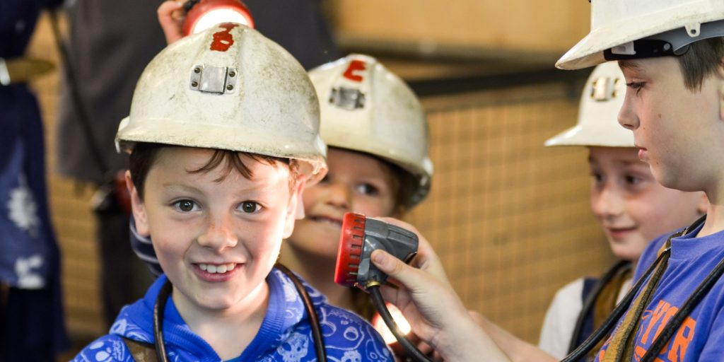 coal mining kids