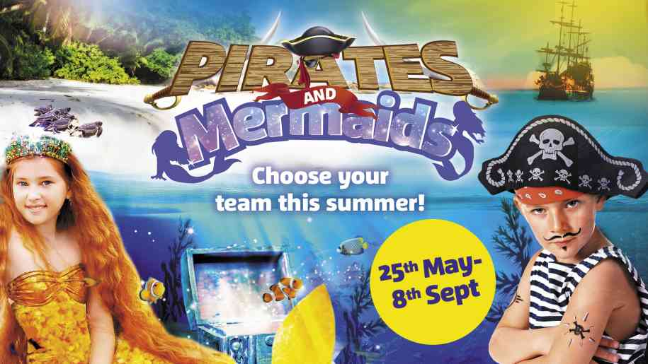pirates and mermaids at sea life