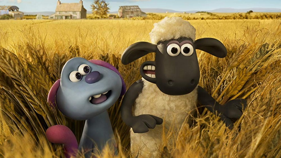 a picture of a shot from the film shaun the sheep