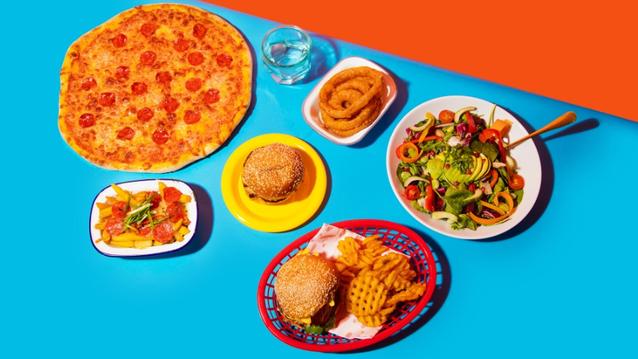 tastecard promotion picture of fast food