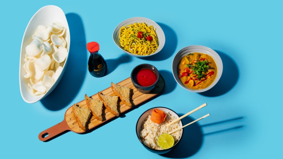 tastecard promotion picture of Asian food
