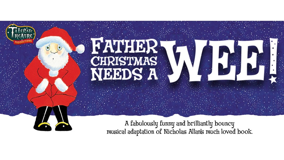 Banner for Nicholas Allan's Father Christmas needs a wee book