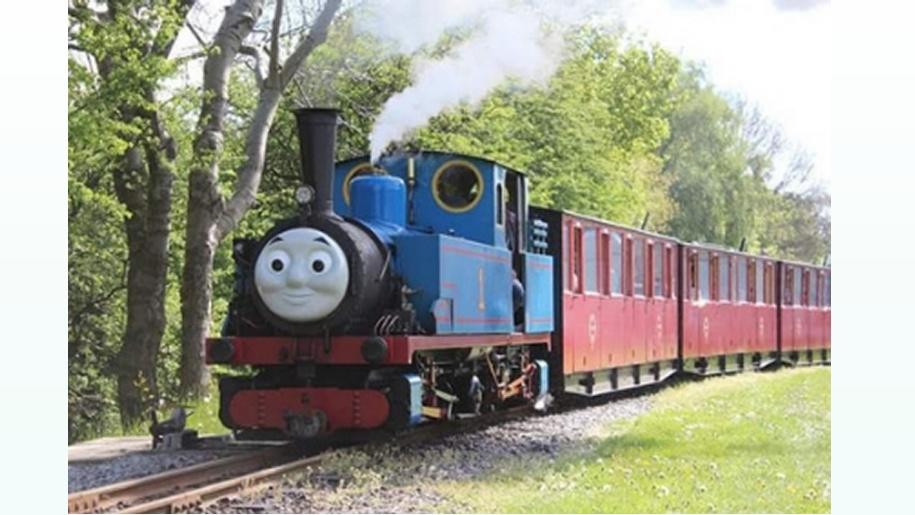 thomas the tank engine train ride