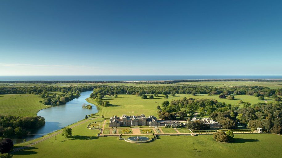 Holkham view from above 915x515