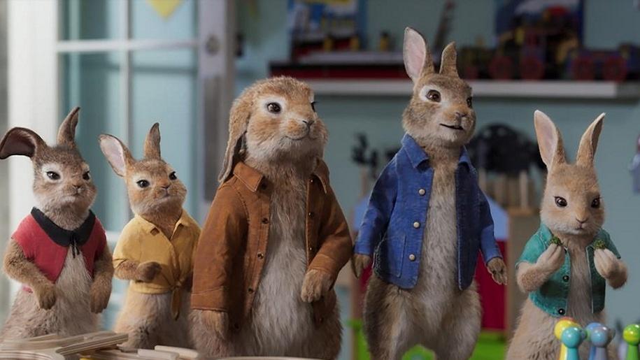 cartoon rabbits