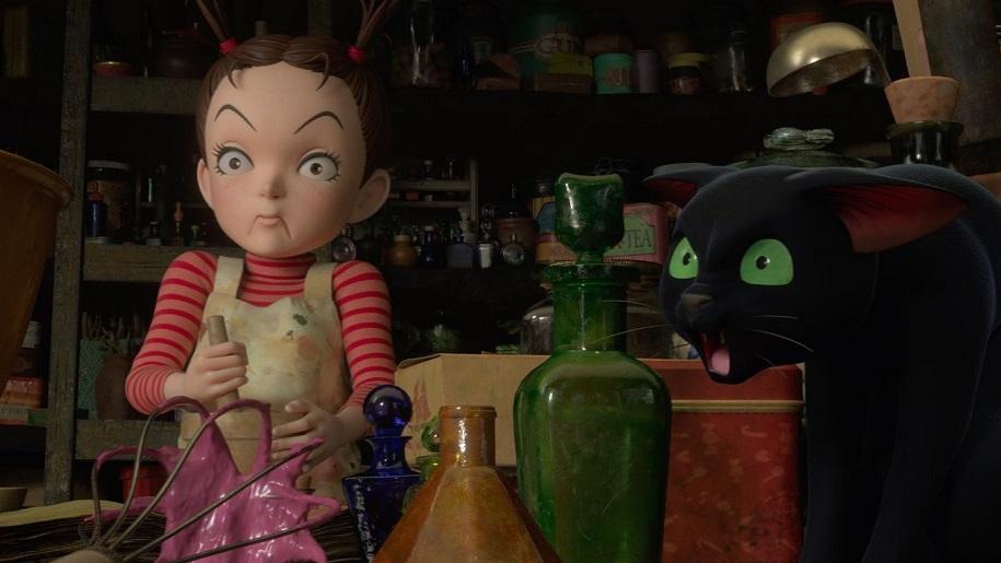 creepy cartoon doll